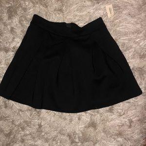 Bethany Mota Skirts - •BLACK SKATER AEROPOSTALE SKIRT•